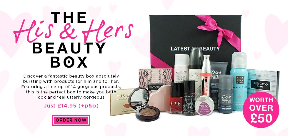His and Hers Beauty Box