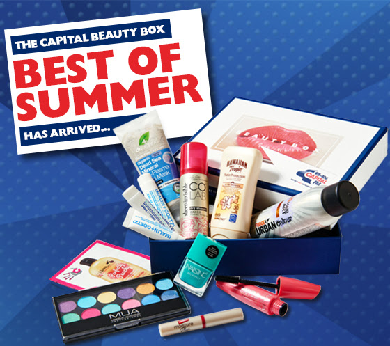 Best of Summer Capital Beauty Box