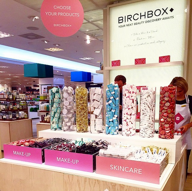 Birchbox selfridges