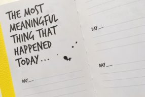 The One Sentence A Day Meaningfulness Journal
