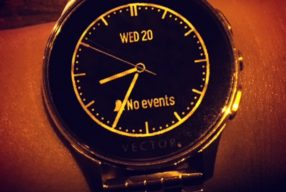 Vector Watches Fashionable Everyday Tech