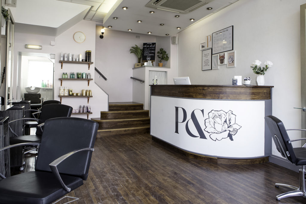 Pink and Rose Hair Salon