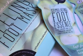 Oh K! Fruit Enriched Peeling Foot Mask review.