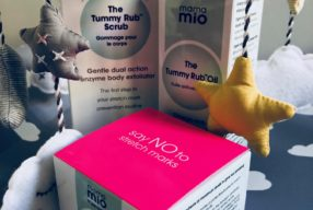 Perfectly Prepped with Mama Mio's New Tummy Rub Scrub!